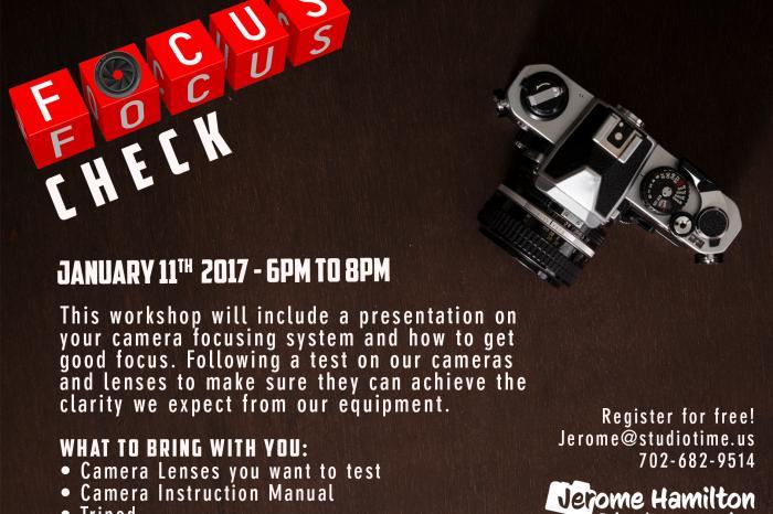 Past Workshop : Focus Check